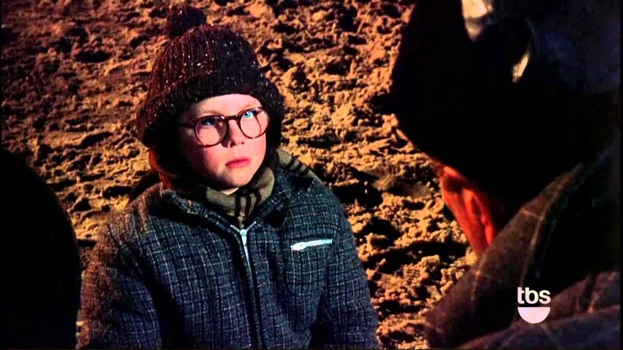 A Christmas Story Oh Fudge  Fudge
