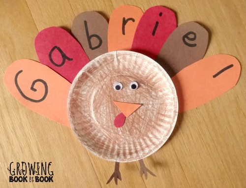 A Turkey For Thanksgiving Activity  Name Activities Feather Letter Turkey