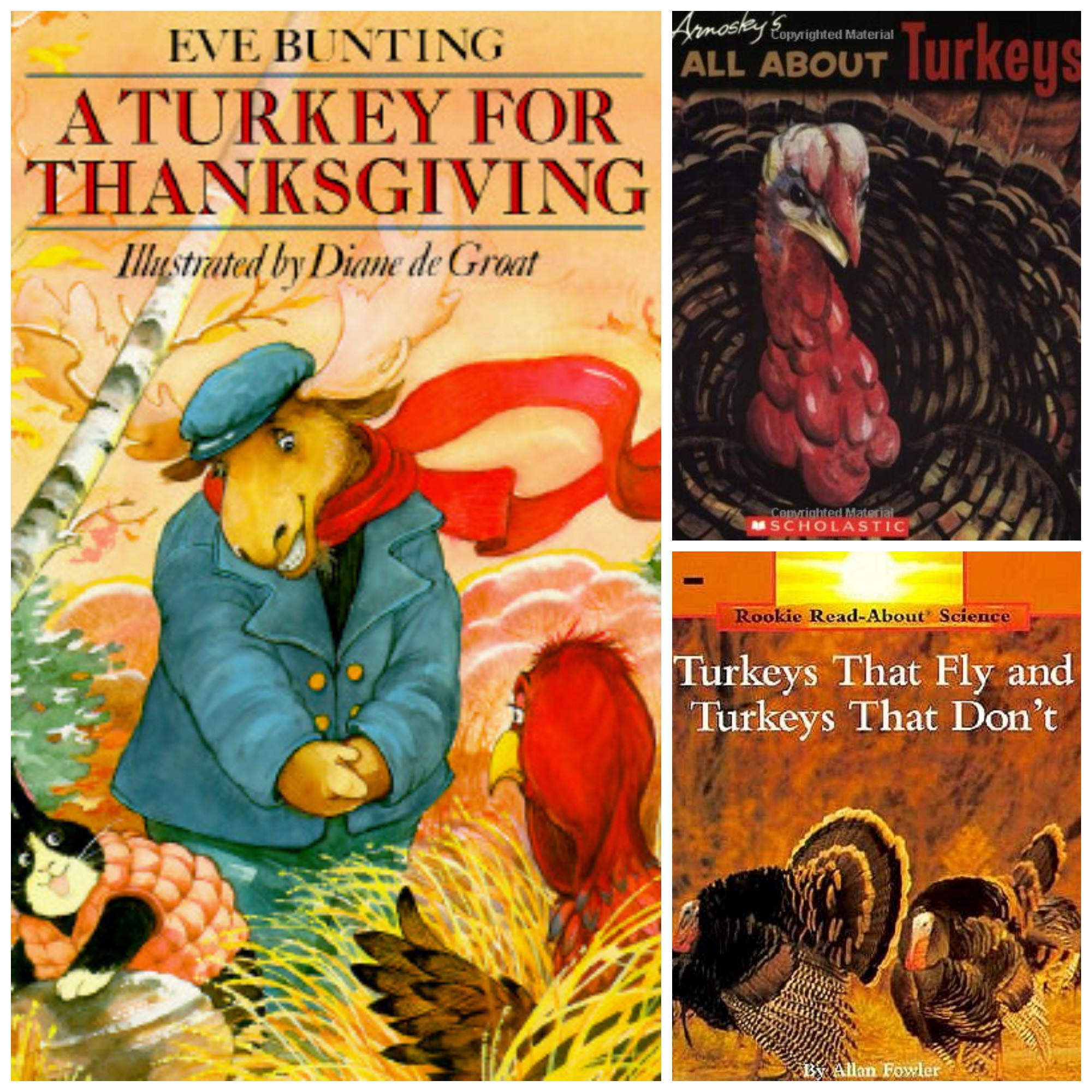 A Turkey For Thanksgiving By Eve Bunting Activities  Our Crafts N Things Blog Archive Poppins Book Nook