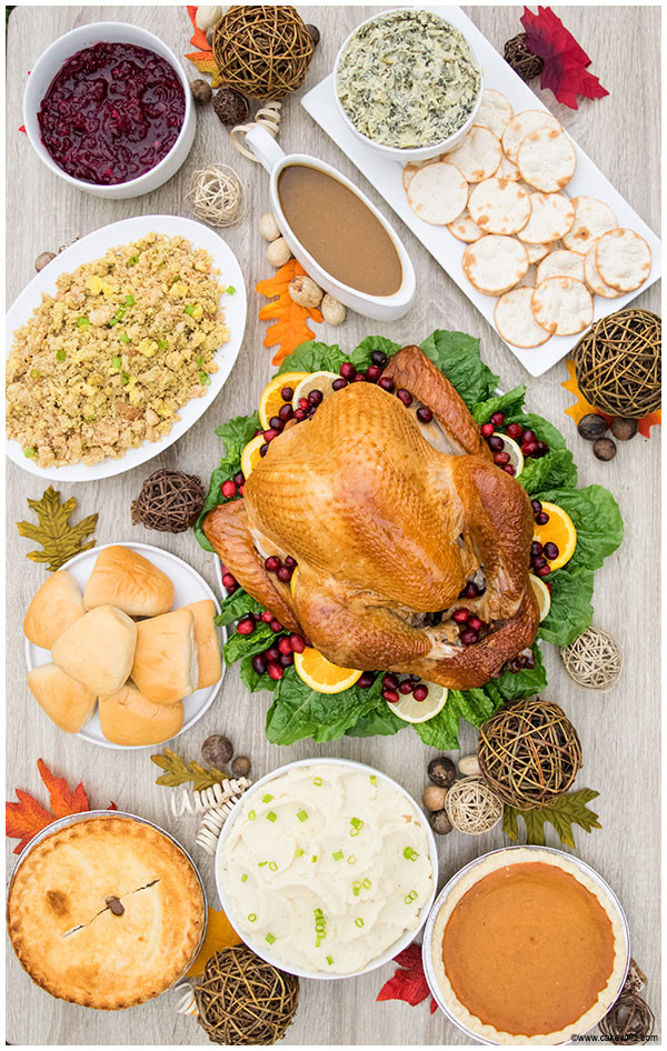 Acme Thanksgiving Turkey Dinner  Tips for Hosting Thanksgiving Dinner CakeWhiz