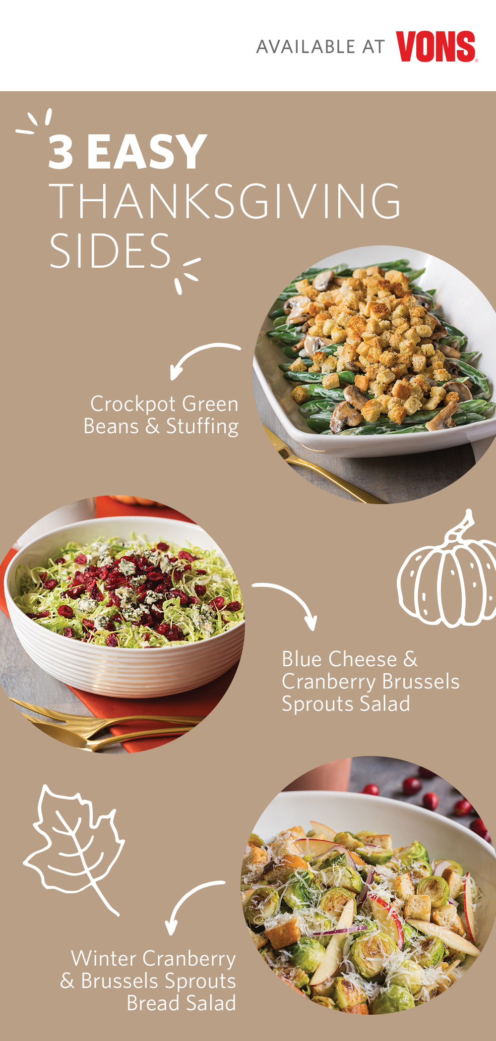 Albertsons Thanksgiving Dinner 2019  Vons Thanksgiving Deals