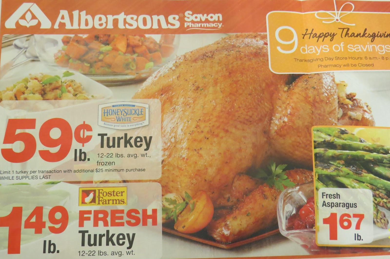 Albertsons Thanksgiving Dinner  A Great Amazon Gift Card Deal at Albertsons