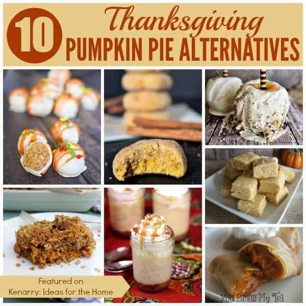 Alternatives To Turkey For Thanksgiving  Pumpkin Pie Alternatives 10 Ideas for Thanksgiving