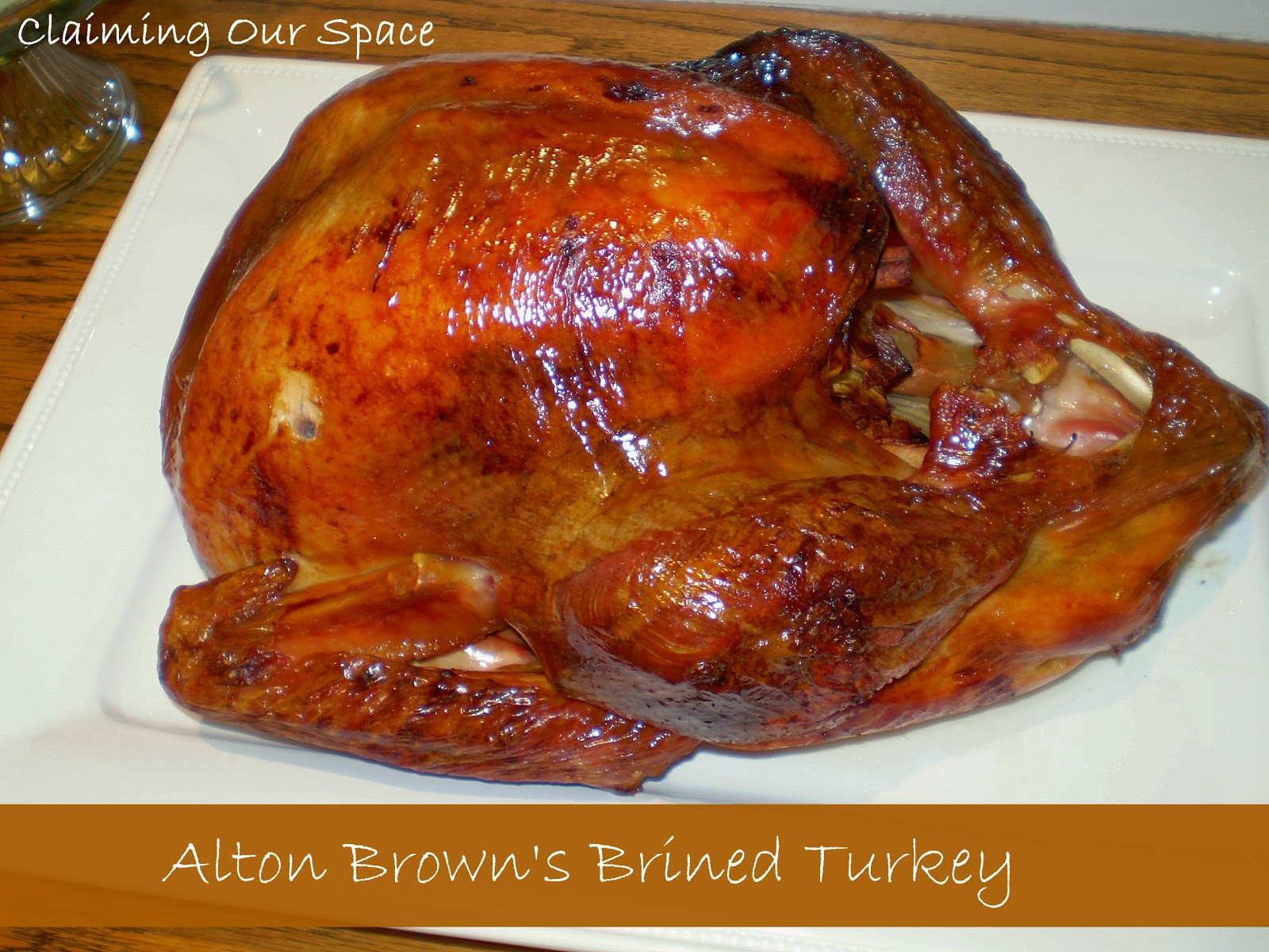 Alton Brown Thanksgiving Turkey  Claiming Our Space Thanksgiving Treats and Fall Fun Link