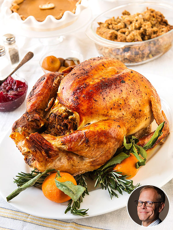 Alton Brown Thanksgiving Turkey  Alton Brown s Grilled Thanksgiving Turkey Recipe and Tips