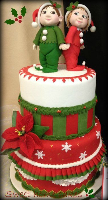 Amazing Christmas Cakes  20 Most Beautiful and Wonderful Christmas Cakes Page 16