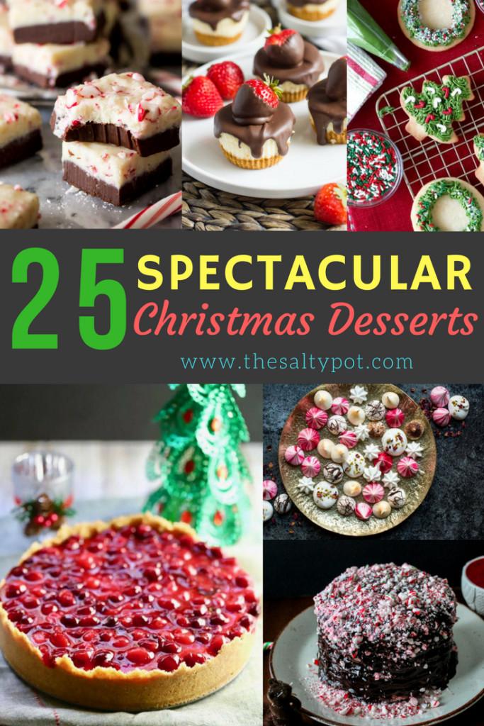 Amazing Christmas Desserts  25 spectacular christmas desserts