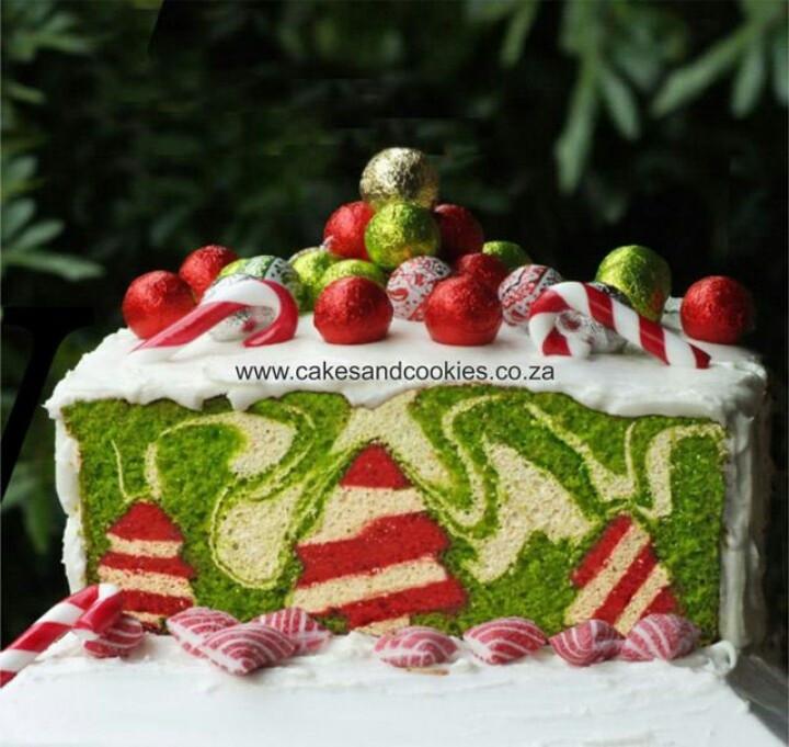 Amazing Christmas Desserts  Amazing Christmas cake I like cake