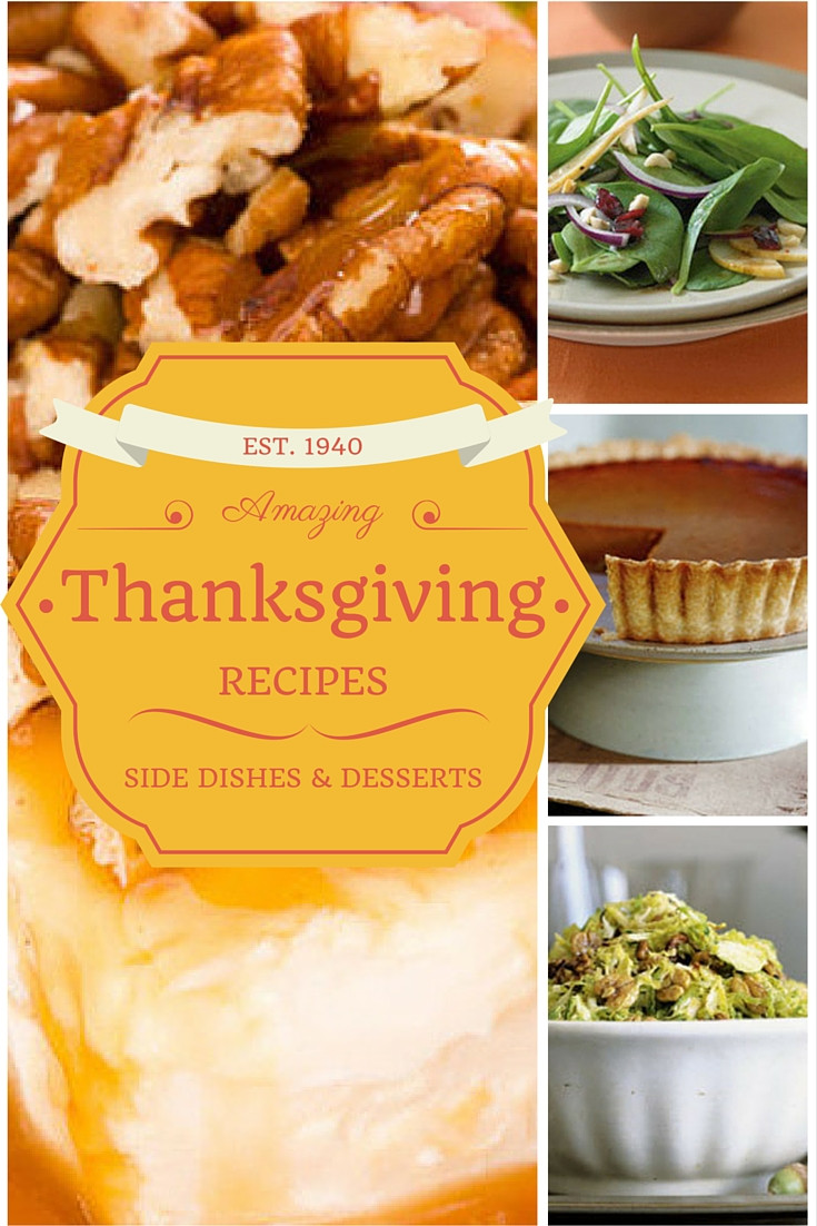 Amazing Thanksgiving Desserts  Amazing and Unexpected Thanksgiving Recipes