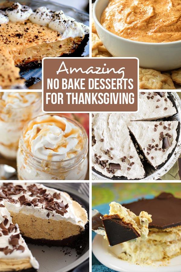 Amazing Thanksgiving Desserts  Amazing No Bake Thanksgiving Desserts Family Fresh Meals