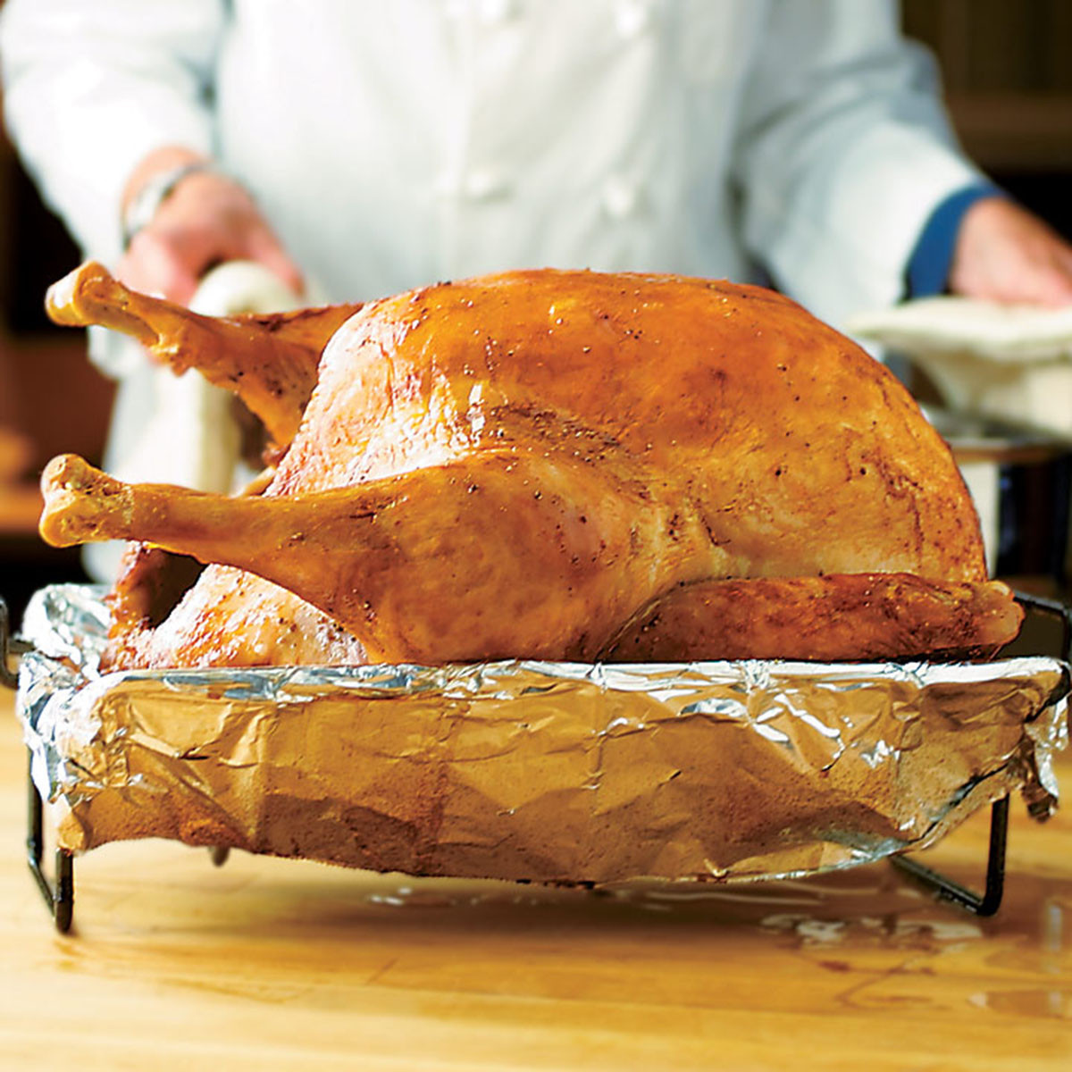 American Test Kitchen Thanksgiving Turkey  Turkey for a Crowd Recipe America s Test Kitchen