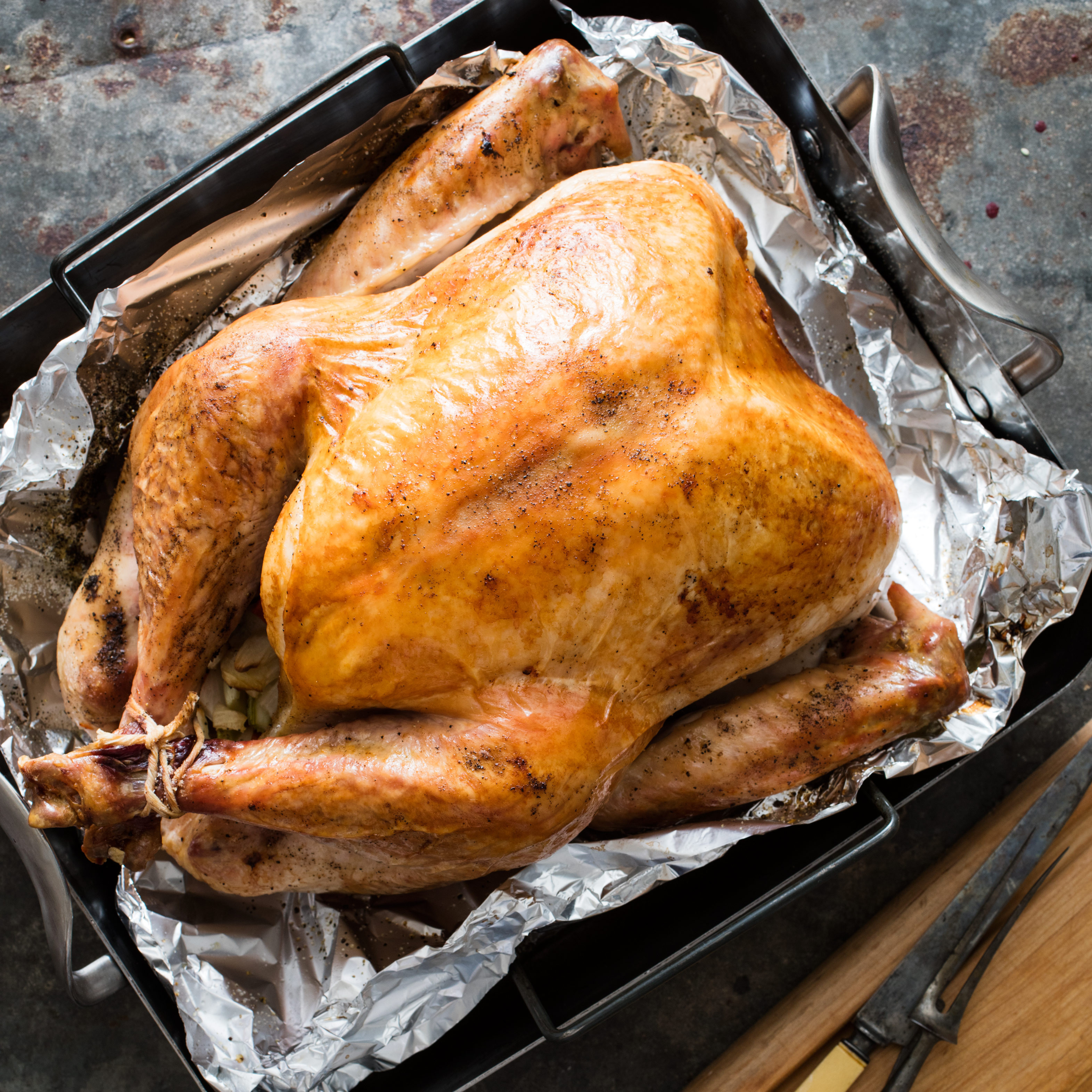 American Test Kitchen Thanksgiving Turkey  Turkey for a Crowd