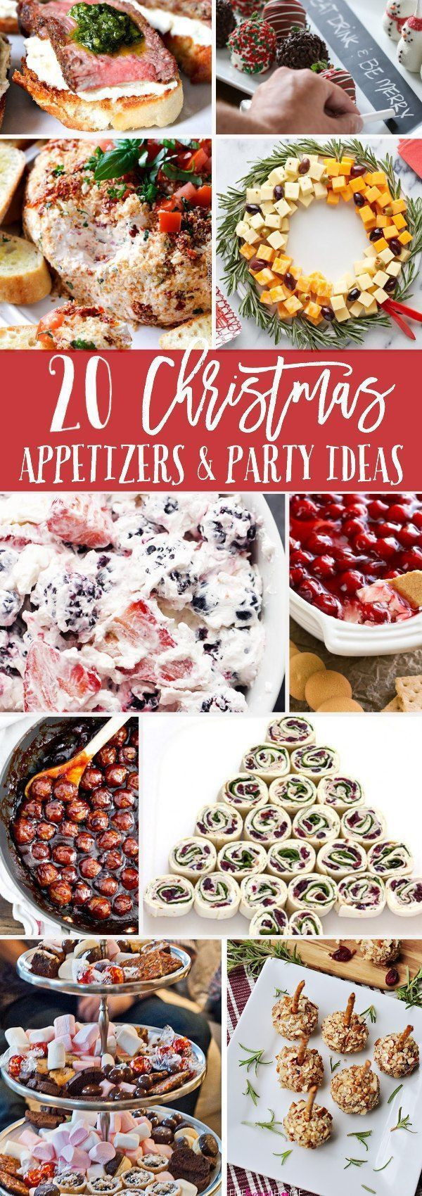 Appetizers For Christmas Eve Party  Top 25 best Christmas party appetizers ideas on Pinterest