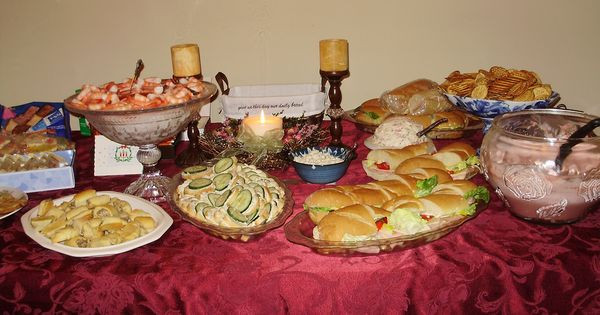 Appetizers For Christmas Eve Party  Christmas Eve Appetizer Buffet 2010