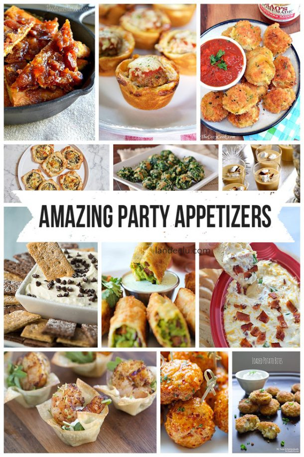 Appetizers For Christmas Eve Party  Most Amazing Party Appetizer Recipes in the ENTIRE WORLD