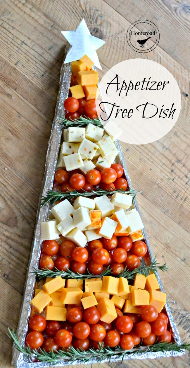 Appetizers For Christmas Eve Party  Christmas Appetizer Tree DIY Tray