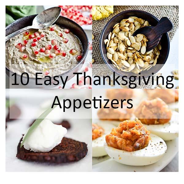 Appetizers For Thanksgiving Dinner Easy  10 Easy Thanksgiving Appetizers