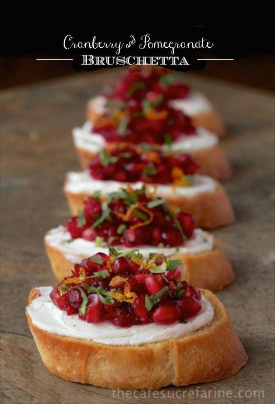 Appetizers For Thanksgiving Dinner Easy  Best 20 Pomegranates ideas on Pinterest