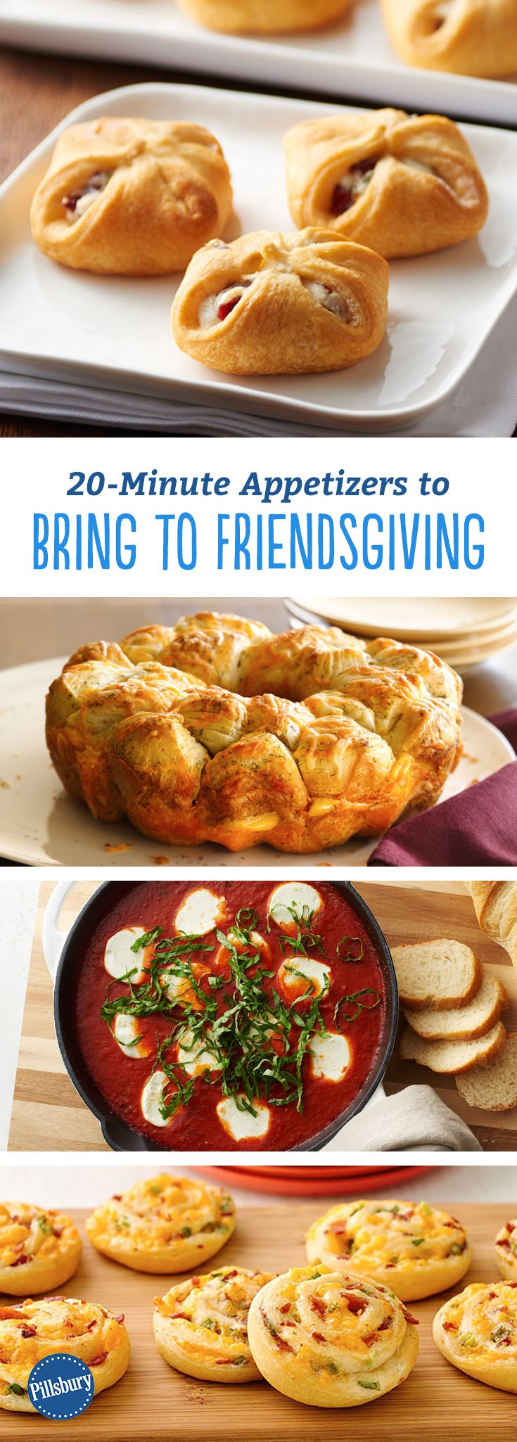 Appetizers For Thanksgiving Dinner  20 Minute Appetizers to Bring to Friendsgiving