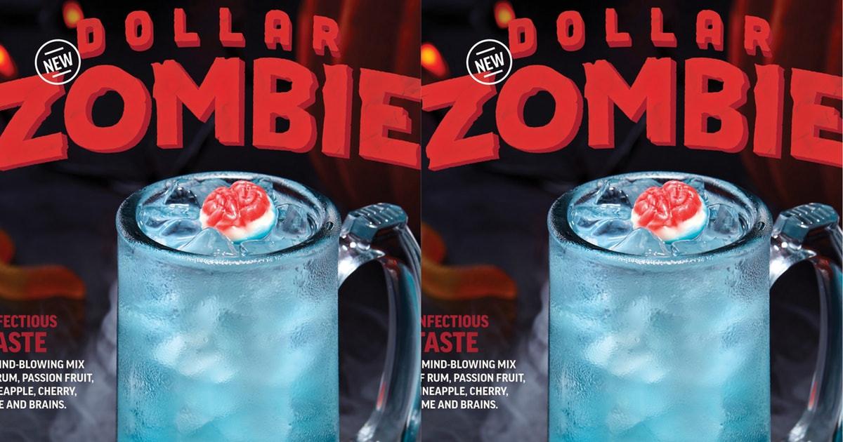 Applebees Halloween Drinks  Applebee s Dollar Zombies Are Available All Through