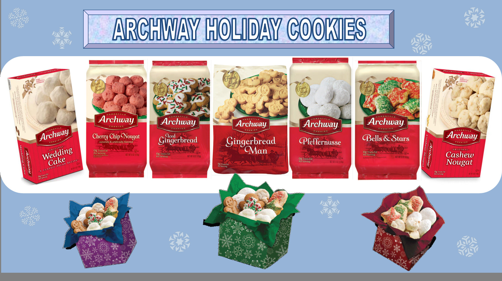 Archway Christmas Cookies  News