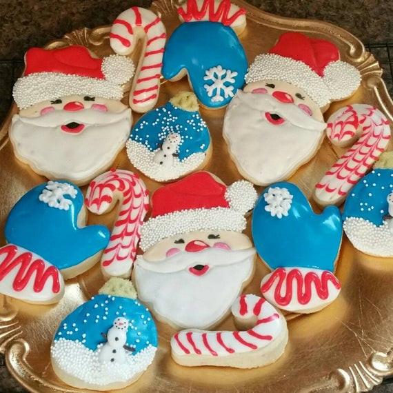 Assorted Christmas Cookies  Christmas cookies Holiday Cookies Assorted cookies by