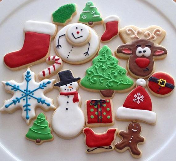 Assorted Christmas Cookies  e dozen assorted Christmas cookies