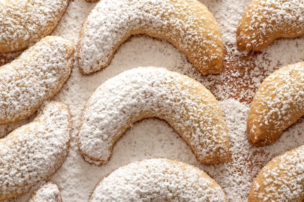 Austrian Christmas Cookies  Vanillekipferl Austrian Vanilla Crescent Cookies The