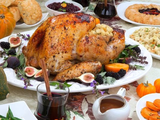 Average Size Turkey For Thanksgiving  Cost of Thanksgiving dinner takes a surprising turn