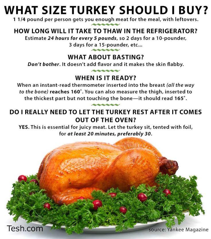 Average Size Turkey For Thanksgiving  What size turkey to Thanksgiving