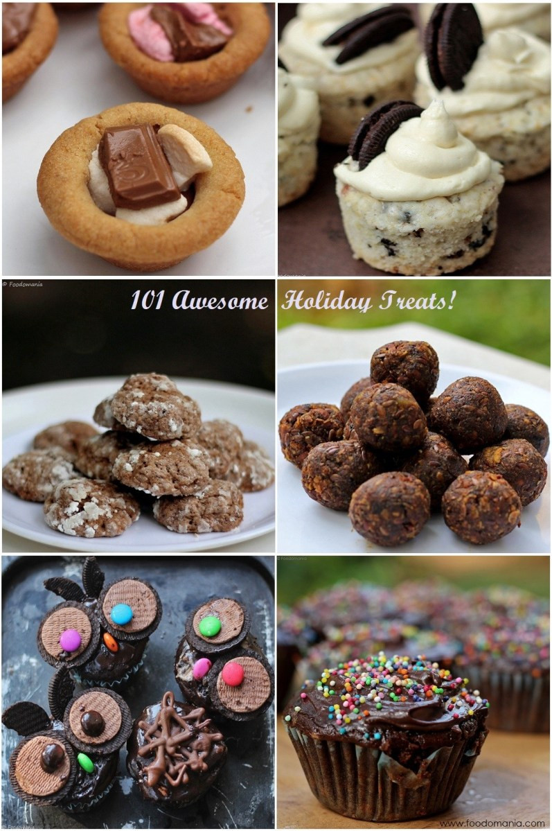 Awesome Christmas Desserts  101 Awesome Holiday Treats Recipes