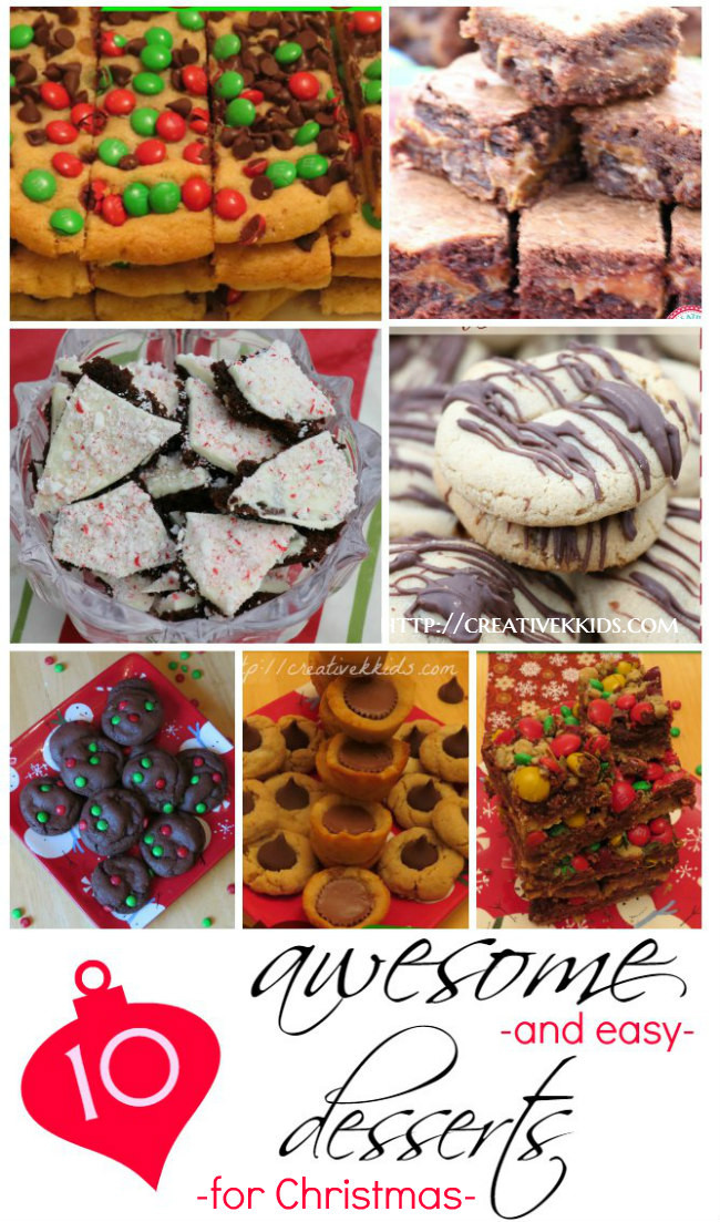 Awesome Christmas Desserts  Tasty Tuesdays 10 Awesome and Easy Christmas Desserts