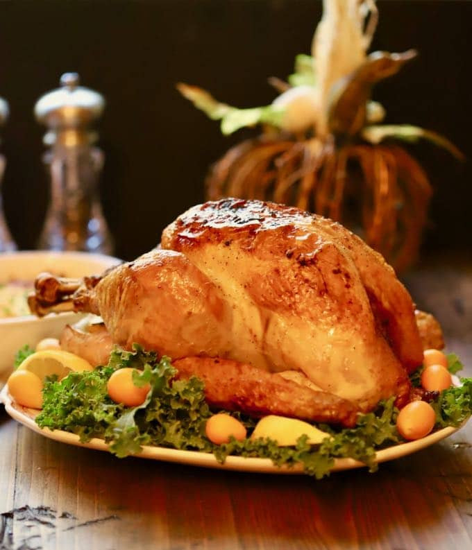 Bake Turkey Recipe For Thanksgiving  Simple and Perfect Roast Turkey