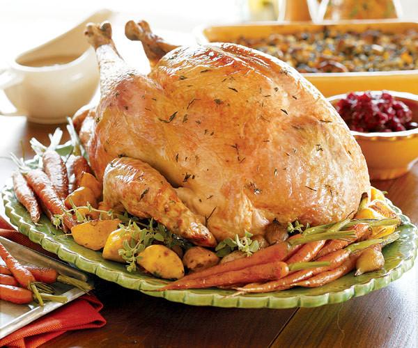 Bake Turkey Recipe For Thanksgiving  Juicy Roast Turkey Recipe FineCooking