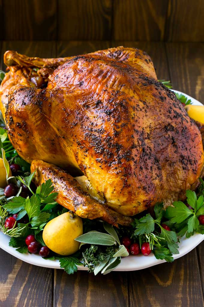 Baked Turkey Recipes For Thanksgiving  Herb Roasted Turkey Dinner at the Zoo