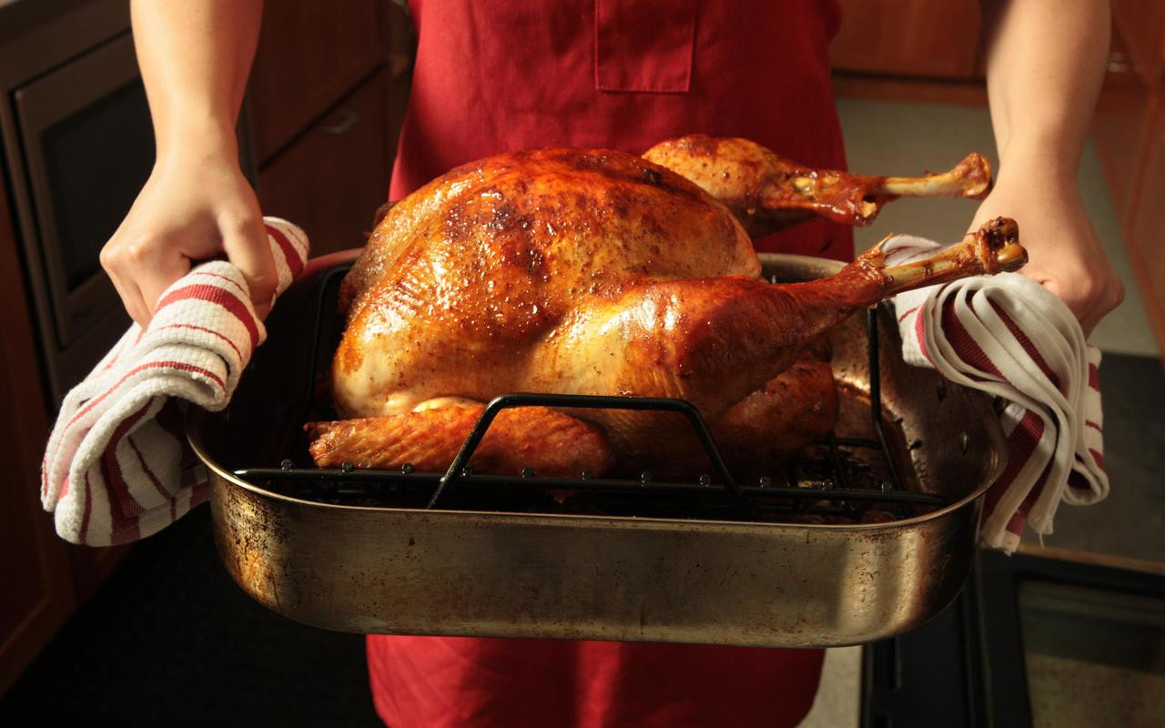 Baked Turkey Recipes For Thanksgiving  Roast Turkey Recipe Chowhound