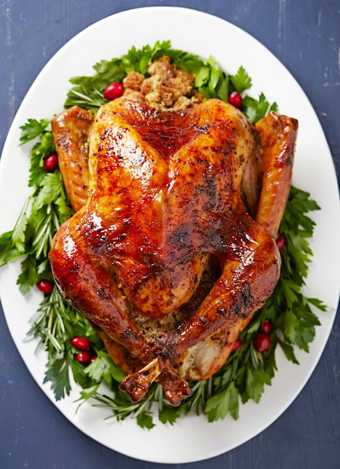 Baked Turkey Recipes For Thanksgiving  Simple Garlic Butter Baked Turkey – Best Easy Thanksgiving