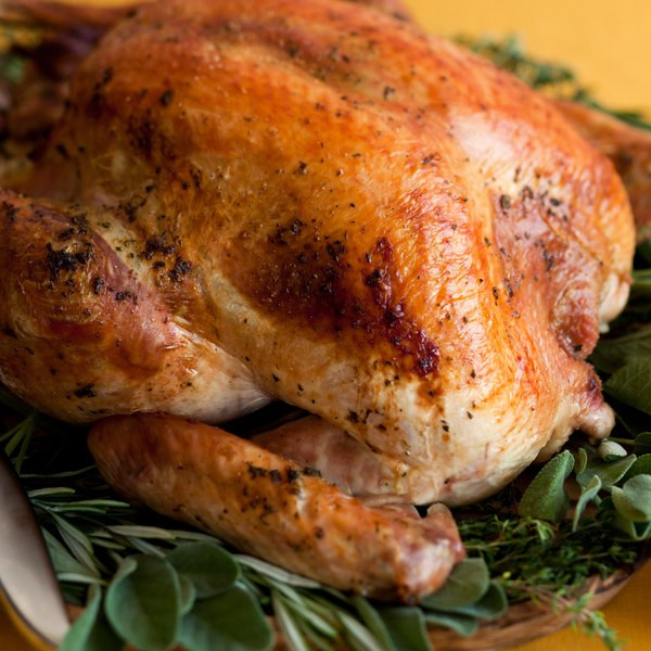 Baked Turkey Recipes For Thanksgiving  Herb Roasted Turkey recipe