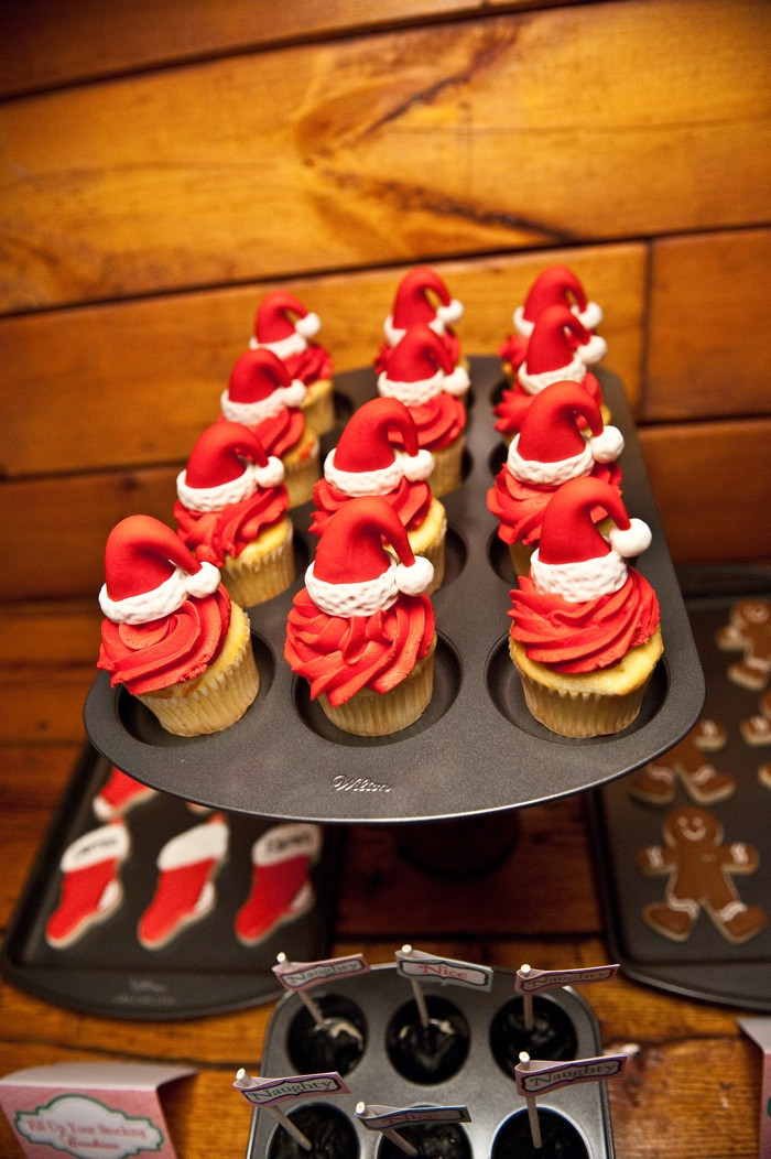 Baking For Christmas  Kara s Party Ideas Santa s Kitchen Christmas Baking