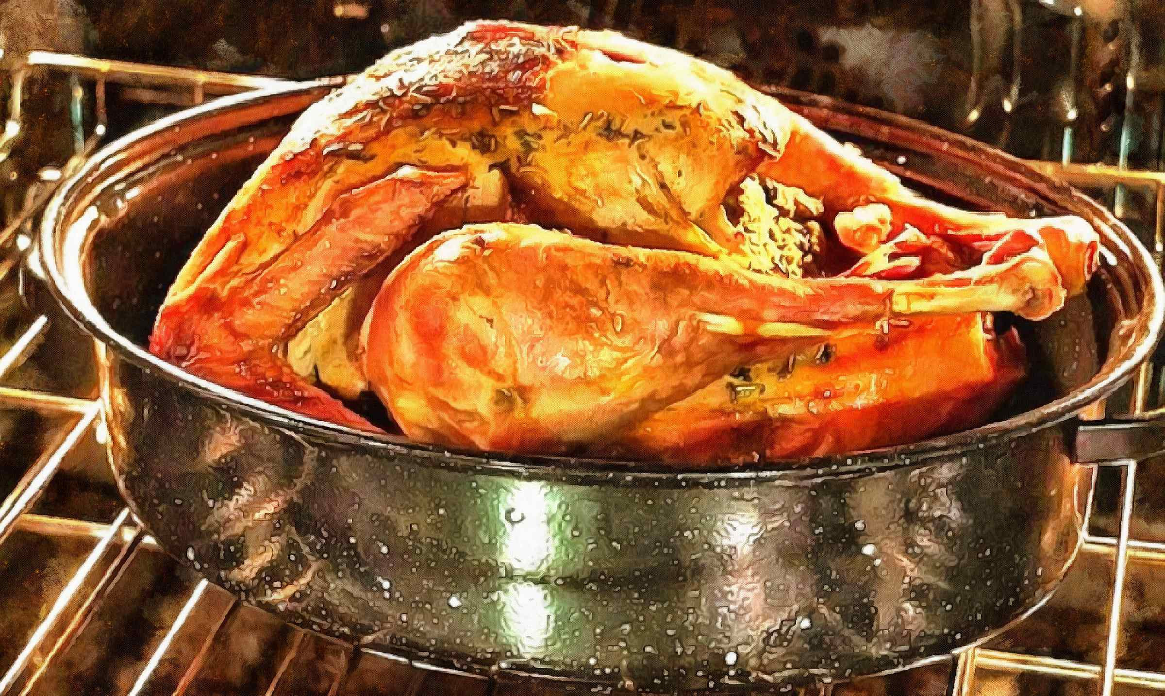 Baking Thanksgiving Turkey  delicious juicy roasted turkey holiday turkey poultry