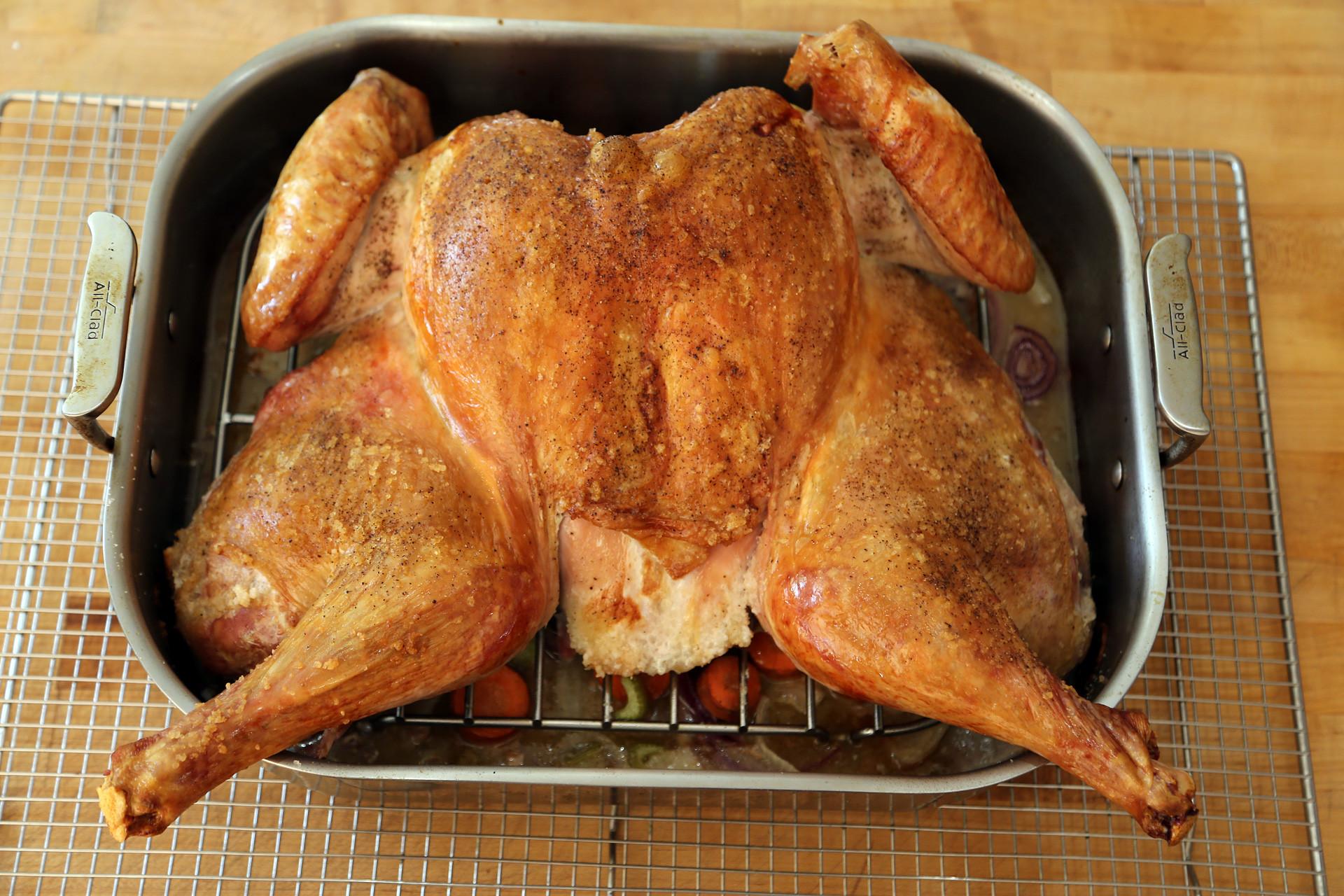 Baking Thanksgiving Turkey  Thanksgiving Recipe Fast Easy Spatchcock Roast Turkey