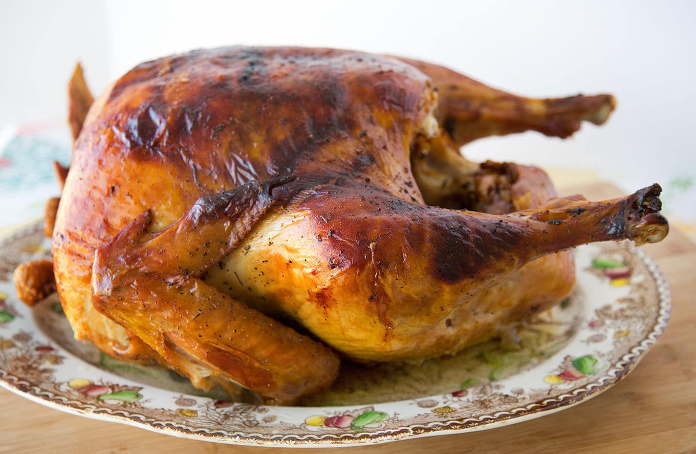 Baking Thanksgiving Turkey  How to Dry Brine and Roast a Turkey Perfectly Chef Dennis