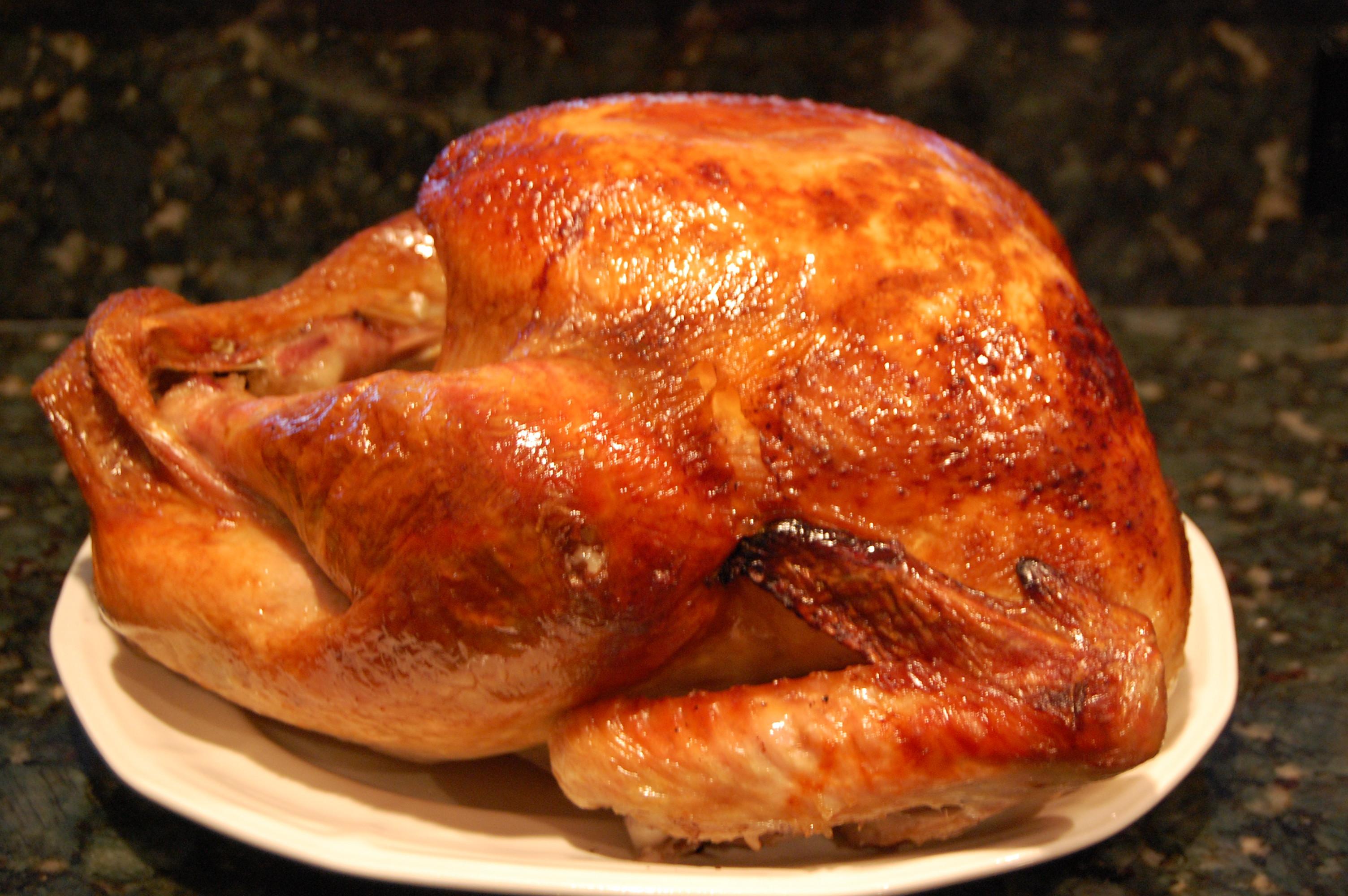 Baking Thanksgiving Turkey  Roasted Turkey