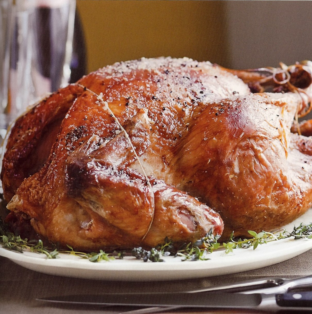 Barefoot Contessa Thanksgiving Turkey  Circa Ina Garten s new cookbook just in time for