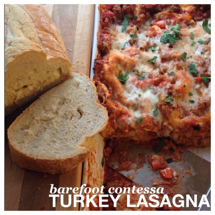 Barefoot Contessa Thanksgiving Turkey  barefoot contessa turkey lasagna My old roommate made it