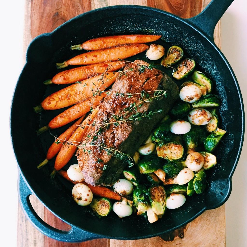Beef Tenderloin Christmas Dinner  Direct Your Dining e Skillet Beef Tenderloin for