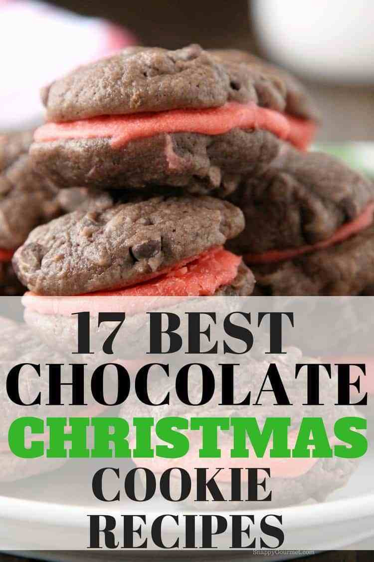 Best Chocolate Christmas Cookies  Best Chocolate Christmas Cookie Recipes Snappy Gourmet