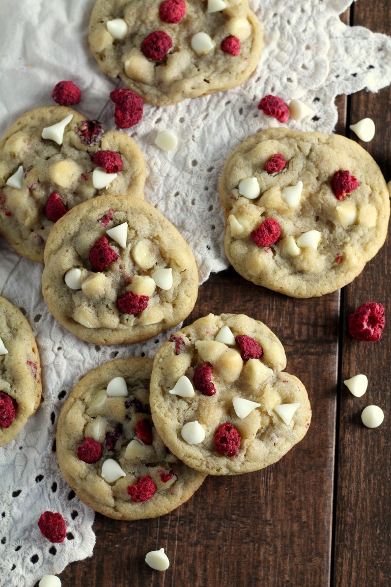 Best Chocolate Christmas Cookies  White Chocolate Raspberry Cookies Chocolate With Grace