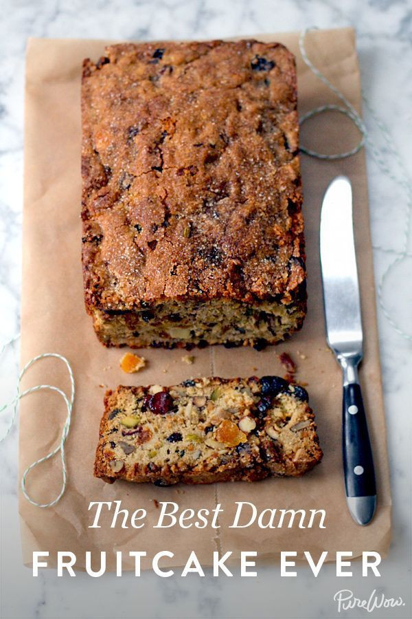 "Best Christmas Cakes 2019  recipeseveryday "" The Best Damn Fruitcake Ever """
