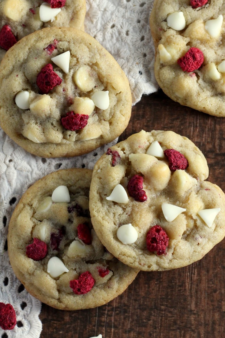 Best Christmas Cookies Recipes  White Chocolate Raspberry Cookies Chocolate With Grace